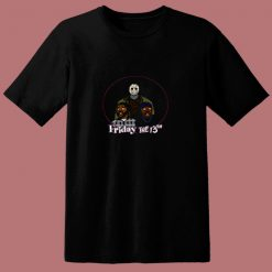 2 Sided Friday The 13th Craig And Smokey 80s T Shirt