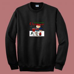 A Charlie Brown Christmas Movie 80s Sweatshirt