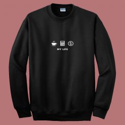 Accounting Life 80s Sweatshirt