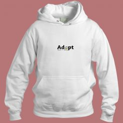 Adopt Dont Shop Aesthetic Hoodie Style