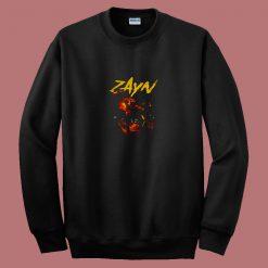 Aesthetic Zayn Malik Zombie City 80s Sweatshirt