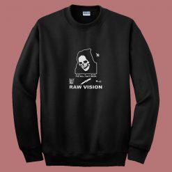 Alien Body Lil Peep Raw Vision Vintage 80s Sweatshirt