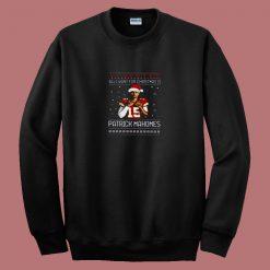 All I Want For Christmas Is Patrick Mahomes 80s Sweatshirt
