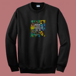 All Seasons Rick Andmorty Mash Up 80s Sweatshirt