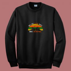 All The Cool Kids Are Reading 80s Sweatshirt