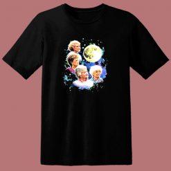 Bioworld The Four Golden Girls Moon 80s T Shirt
