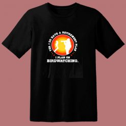 Birdwatching 80s T Shirt