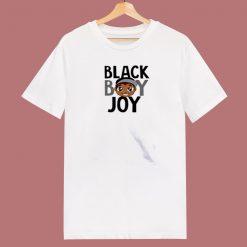 Black Boy Joy Cartoon 80s T Shirt
