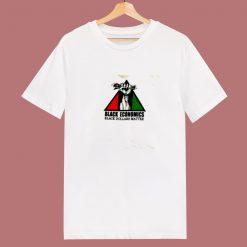 Black Economics Dollars Matter 80s T Shirt