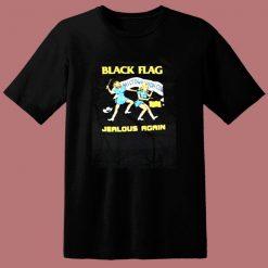 Black Flag Jealous Again 80s T Shirt
