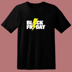Black Friday Lightning 80s T Shirt