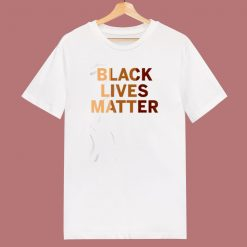 Black Lives Matter 80s T Shirt