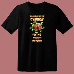Flying Spaghetti Monster 80s T Shirt