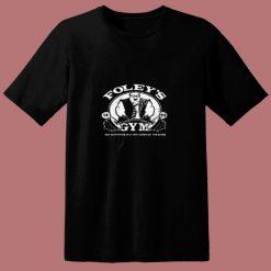 Foleys Gym Snl Funny Parody 80s T Shirt