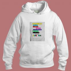 J Balvin Colores Aesthetic Hoodie Style