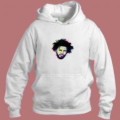 J Cole Pop Art Hip Hop Vintage Aesthetic Hoodie Style