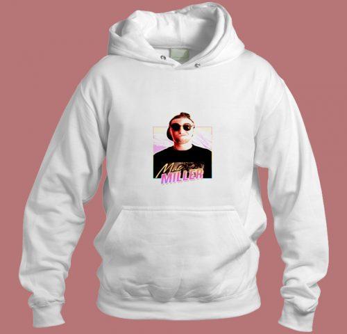 Mac Miller 80s Design Aesthetic Hoodie Style