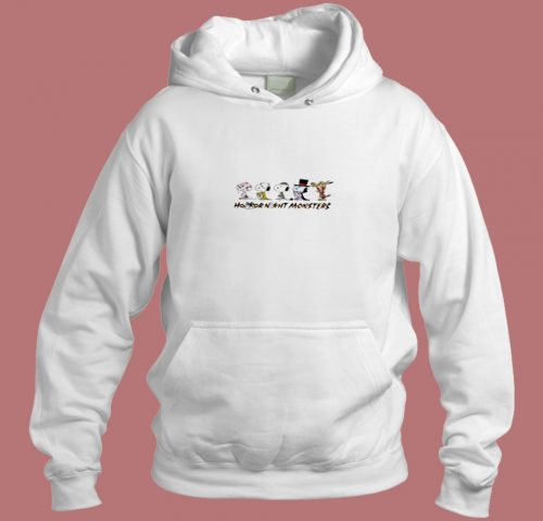 Snoopy Gank Horror Night Monsters Halloween Aesthetic Hoodie Style
