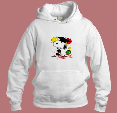 Snoopy Good Job Aesthetic Hoodie Style
