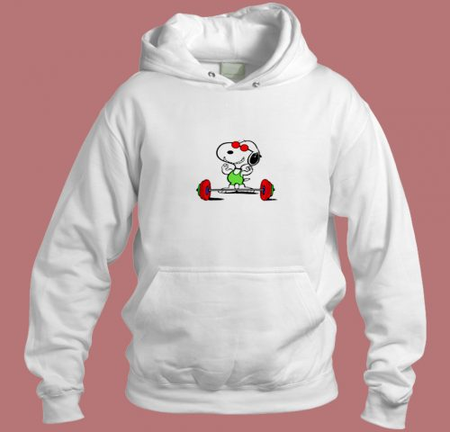 Snoopy Gym Gifts For Adults Funny Snoopy Aesthetic Hoodie Style