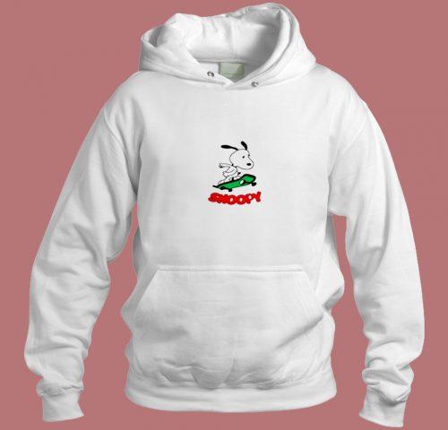 Snoopy Skating Aesthetic Hoodie Style