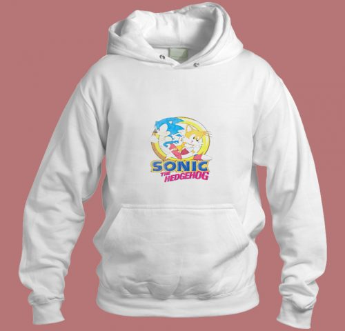 Sonic The Hedgehog And Miles Tails Aesthetic Hoodie Style