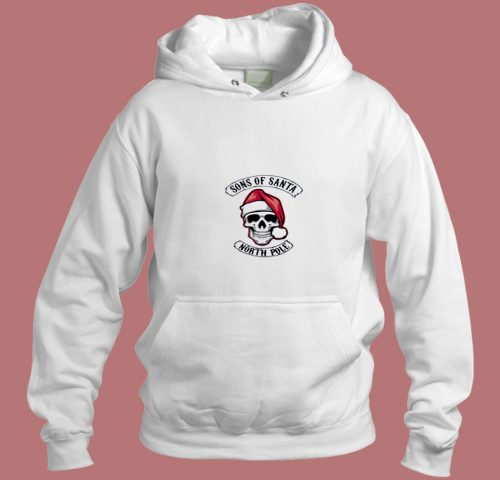 Sons Of Santa North Pole Aesthetic Hoodie Style