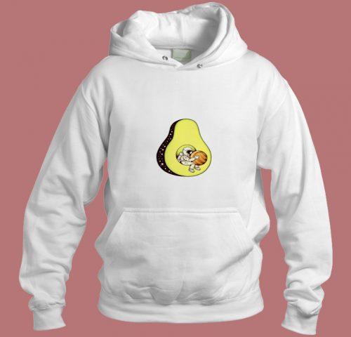 Space Avokado Funny Aesthetic Hoodie Style