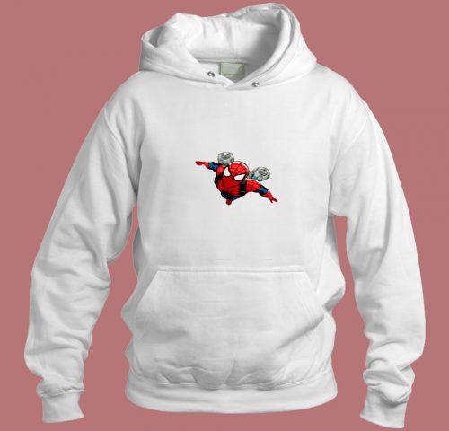Spiderman Jetpack Aesthetic Hoodie Style