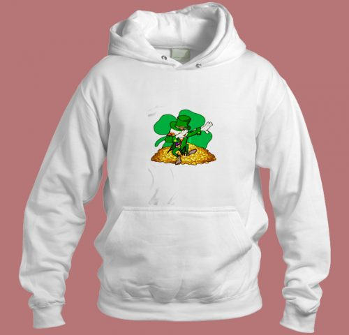 St Patricks Day Dabbing Aesthetic Hoodie Style