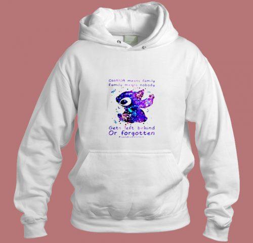 Stitch Ohana Aesthetic Hoodie Style