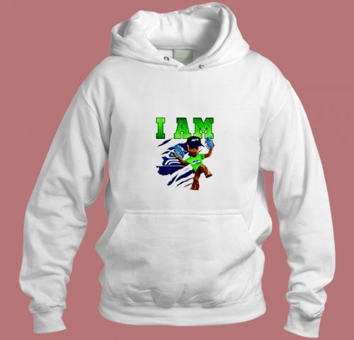 Strong Groot I Am Seattle Seahawks Funny Aesthetic Hoodie Style