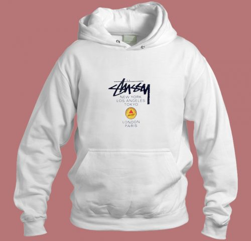 Stussy Martine Rose World Tour Aesthetic Hoodie Style