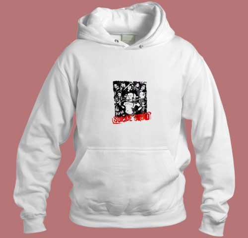 Suicide Squad Group Aesthetic Hoodie Style