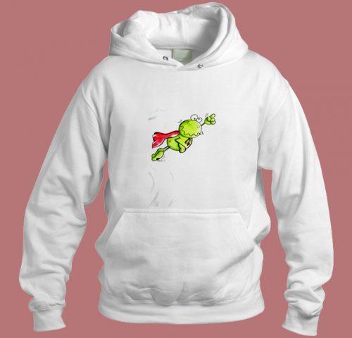 Super Frog Aesthetic Hoodie Style