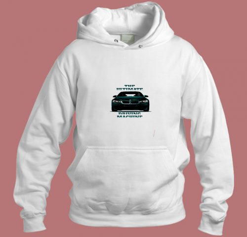 Supercar Driving Machine Aesthetic Hoodie Style
