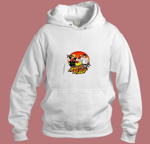 Sweep The Leg Vintage Movie Aesthetic Hoodie Style