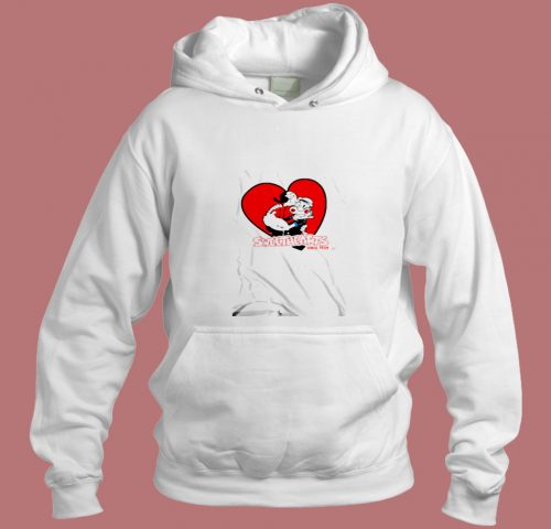 Sweethearts Olive Oyl And Popeye Aesthetic Hoodie Style