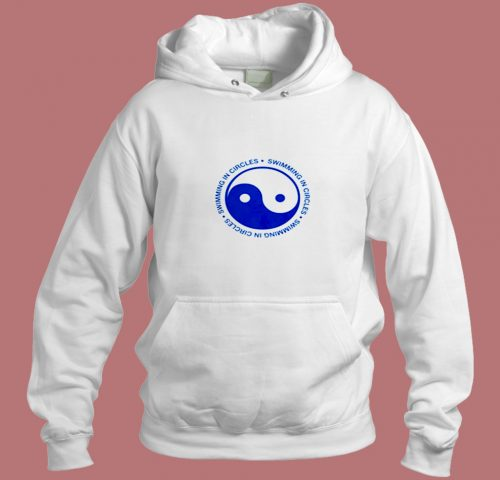 Swimming In Circles Ying Yang Aesthetic Hoodie Style