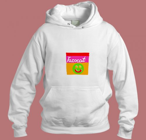 Tatocat Band Smile Striped Aesthetic Hoodie Style