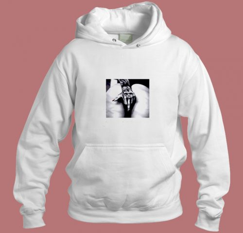 Tattoo Porn Model Ink Machine Middle Finger Pussy Flip Aesthetic Hoodie Style