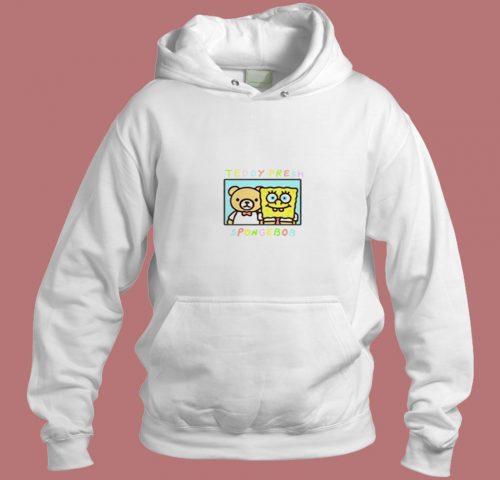 Teddy Fresh X Spongebob Squarepants Aesthetic Hoodie Style