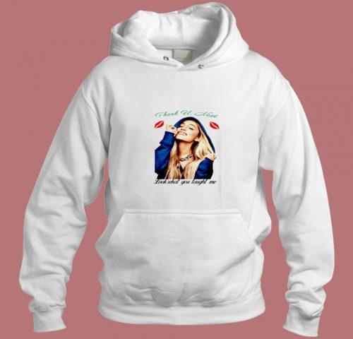 Thank U Next Ariana Grande Unisex Aesthetic Hoodie Style