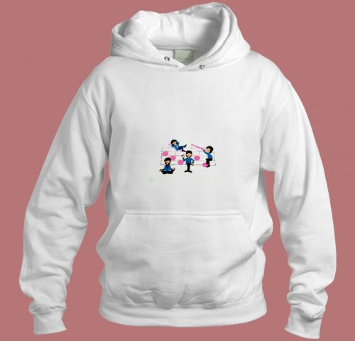 The Beatles 80s Vtg Tour Aesthetic Hoodie Style