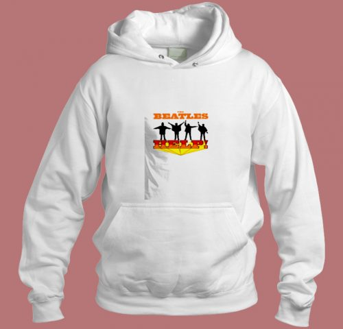 The Beatles Help Album Legend Band Aesthetic Hoodie Style