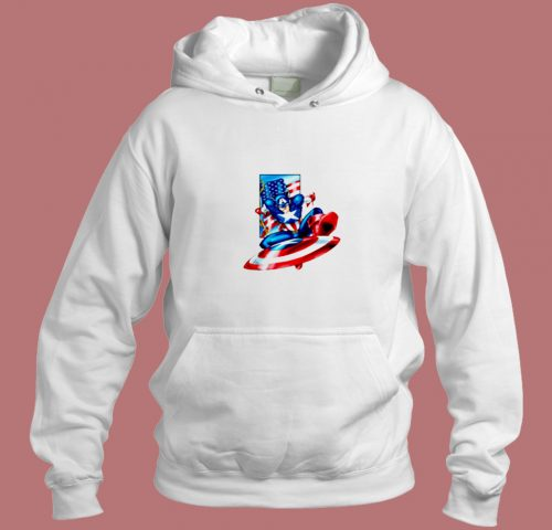The First Avenger Aesthetic Hoodie Style
