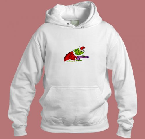 The Grinch Art Aesthetic Hoodie Style