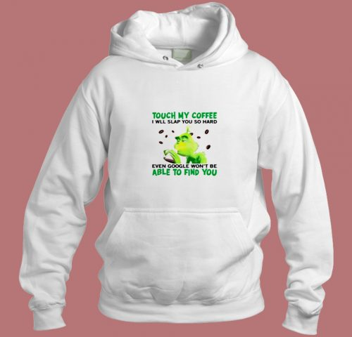 The Grinch Christmas Coffee Aesthetic Hoodie Style