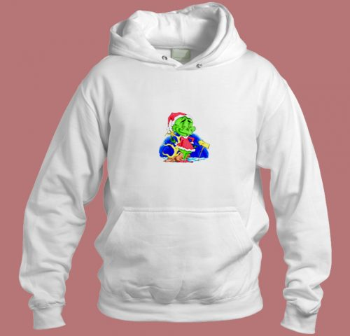 The Grinch Peep Aesthetic Hoodie Style