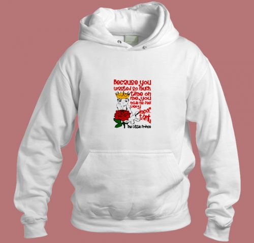The Little Prince Very Important Quote Aesthetic Hoodie Style